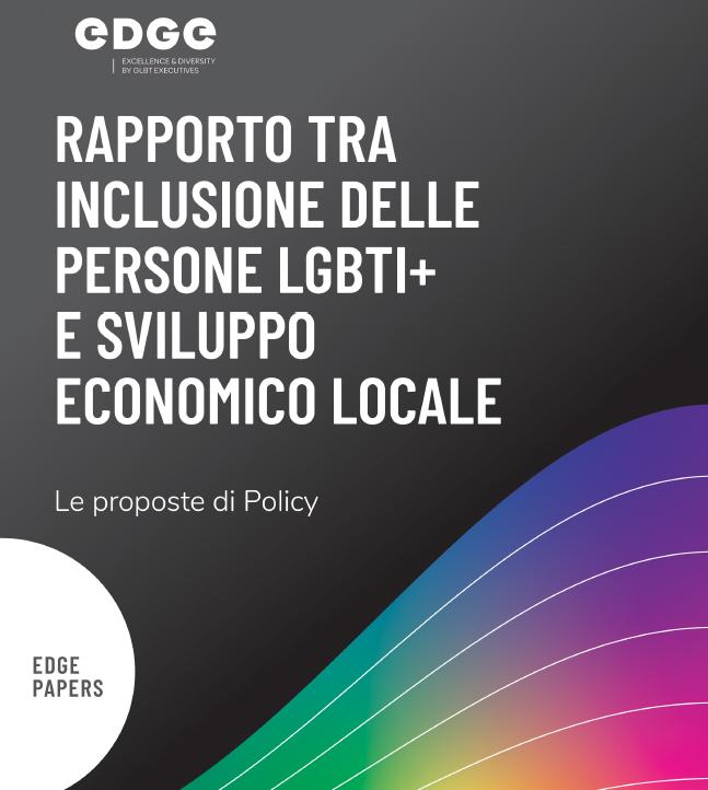 Proposte di policy Edge   EDGE LGBTI+Leaders for change
