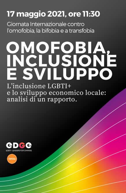 17 maggio, IDAHOBIT | EDGE LGBTI+Leaders for change