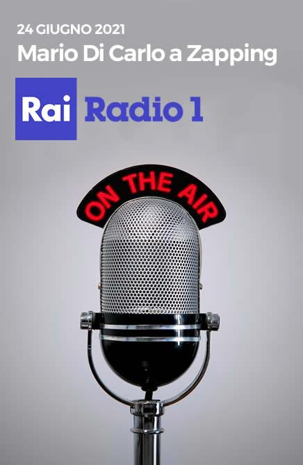 Intervento Di Carlo a Zapping RaiRadio1 | EDGE LGBTI+Leaders for change
